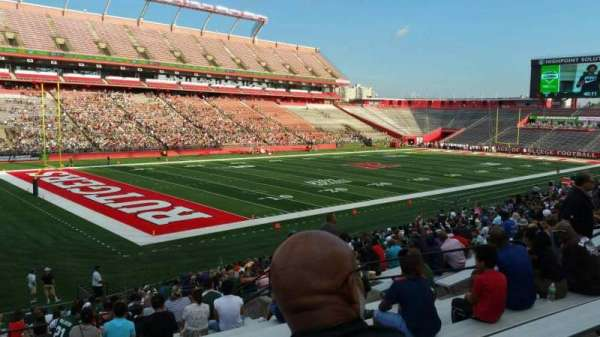 High Point Solutions Stadium, section: 110, row: 25, seat: 15