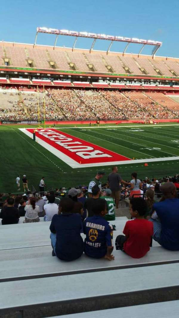 High Point Solutions Stadium, section: 110, row: 25, seat: 9