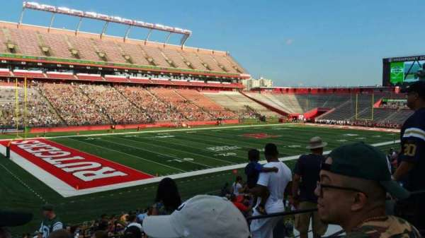 High Point Solutions Stadium, section: 110, row: 25, seat: 6