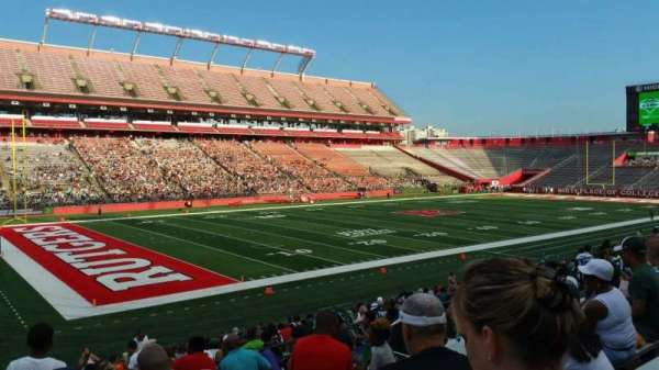 High Point Solutions Stadium, section: 109, row: 20, seat: 28
