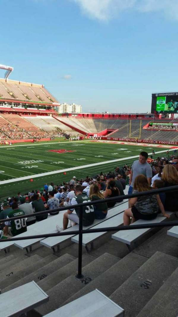 High Point Solutions Stadium, section: 110, row: 32, seat: 4