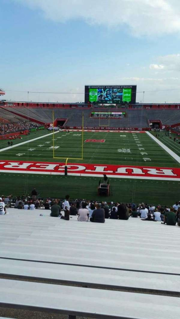 High Point Solutions Stadium, section: 115, row: 36, seat: 16
