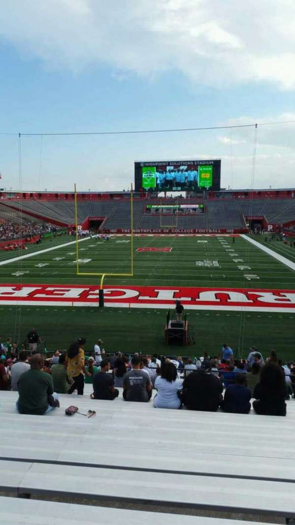 High Point Solutions Stadium, section: 115, row: 27, seat: 18