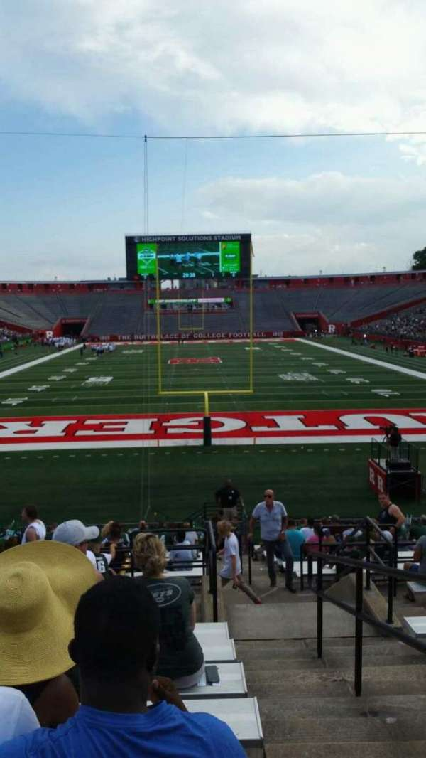 High Point Solutions Stadium, section: 116, row: 22, seat: 1