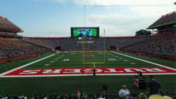 High Point Solutions Stadium, section: 116, row: 22, seat: 5