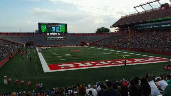 High Point Solutions Stadium, section: 118, row: 25, seat: 1