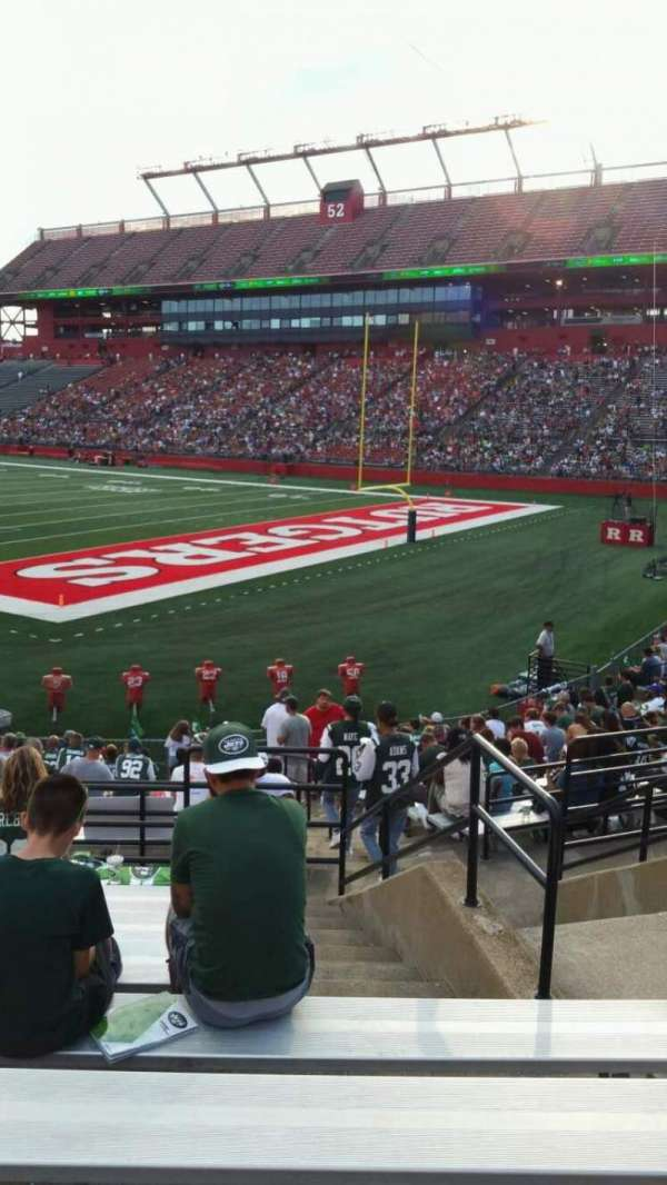 High Point Solutions Stadium, section: 120, row: 19, seat: 4