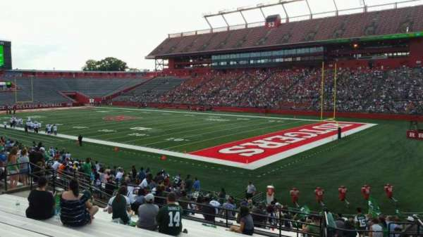 High Point Solutions Stadium, section: 121, row: 23, seat: 1