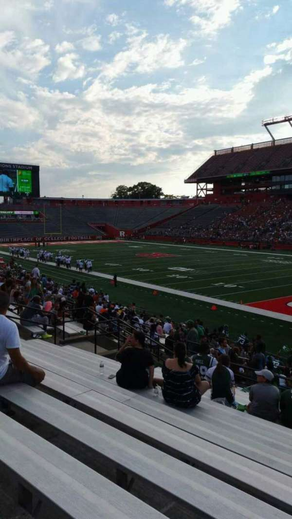 High Point Solutions Stadium, section: 121, row: 23, seat: 4