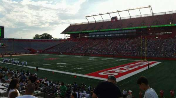 High Point Solutions Stadium, section: 121, row: 23, seat: 8