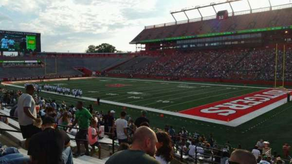 High Point Solutions Stadium, section: 121, row: 23, seat: 12