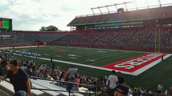High Point Solutions Stadium, section: 121, row: 23, seat: 17