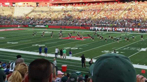 High Point Solutions Stadium, section: 103, row: 18, seat: 1