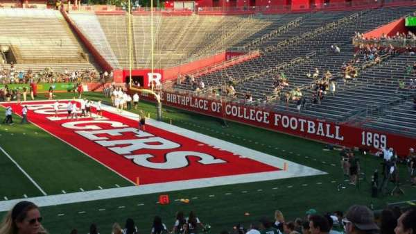 High Point Solutions Stadium, section: 103, row: 19, seat: 1