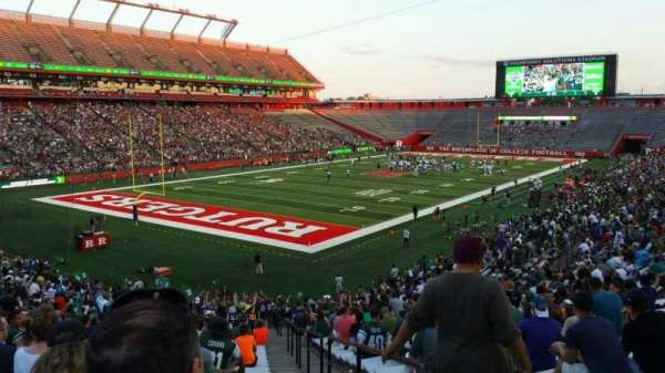 High Point Solutions Stadium, section: 112, row: 35, seat: 1