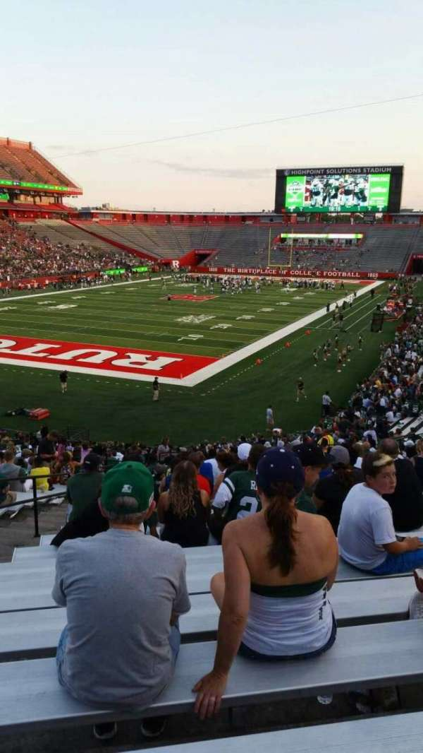 High Point Solutions Stadium, section: 111, row: 35, seat: 26