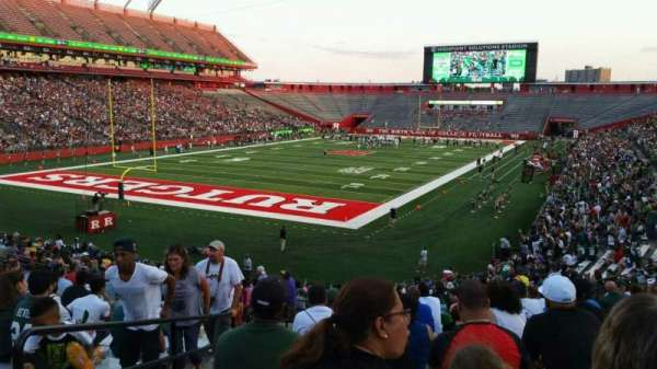 High Point Solutions Stadium, section: 111, row: 29, seat: 25