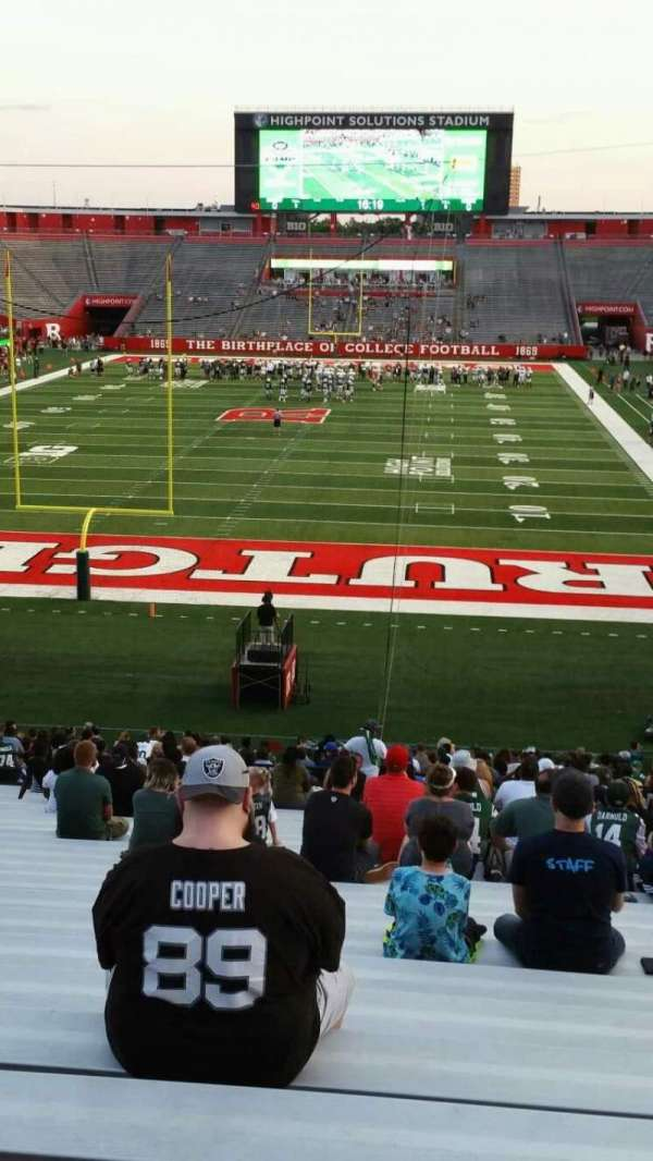 High Point Solutions Stadium, section: 115, row: 36, seat: 10