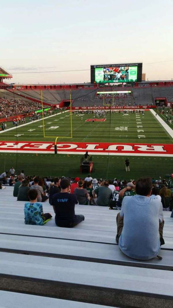 High Point Solutions Stadium, section: 115, row: 34, seat: 6