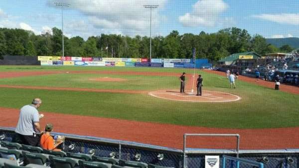 Dutchess Stadium, section: 108, row: F, seat: 13