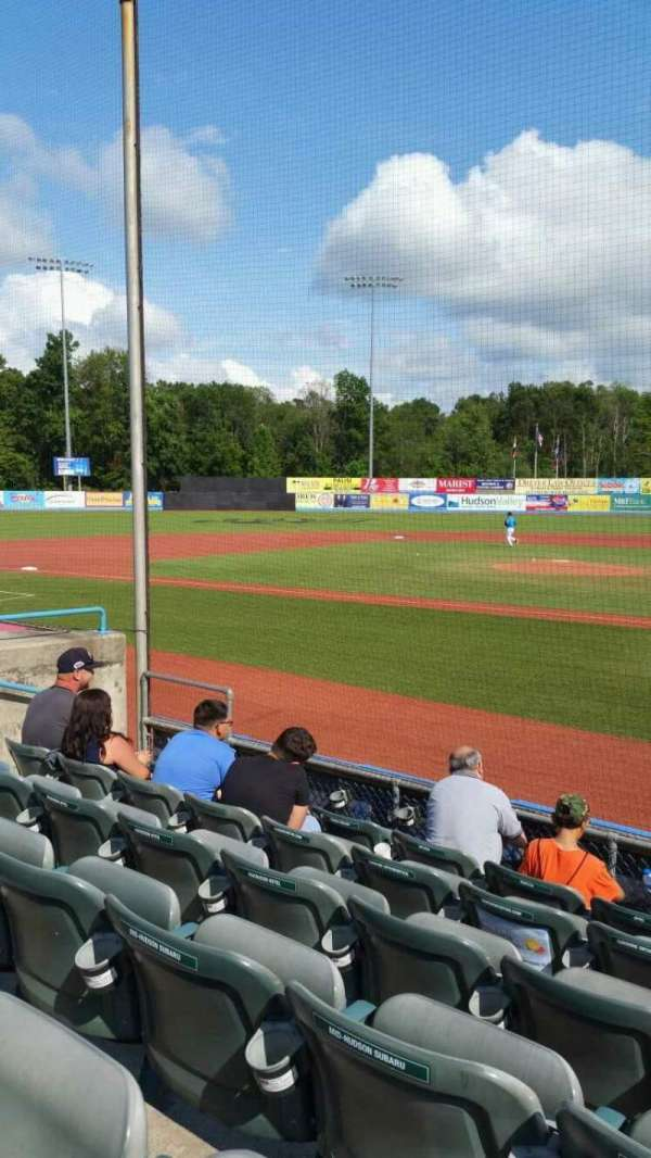 Dutchess Stadium, section: 108, row: F, seat: 10