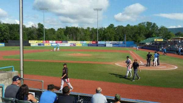 Dutchess Stadium, section: 108, row: F, seat: 7