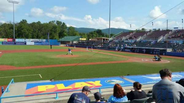 Dutchess Stadium, section: 110, row: J, seat: 7