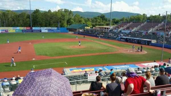 Dutchess Stadium, section: 306, row: H, seat: 1