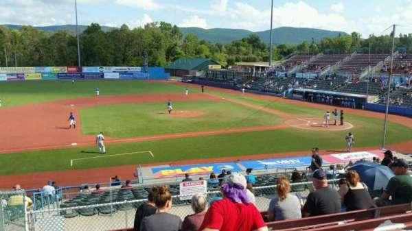 Dutchess Stadium, section: 306, row: H, seat: 4