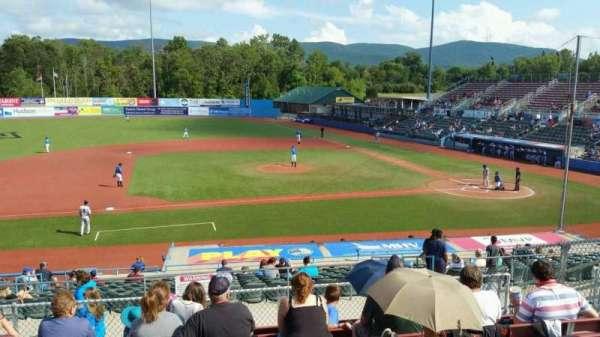 Dutchess Stadium, section: 306, row: H, seat: 10
