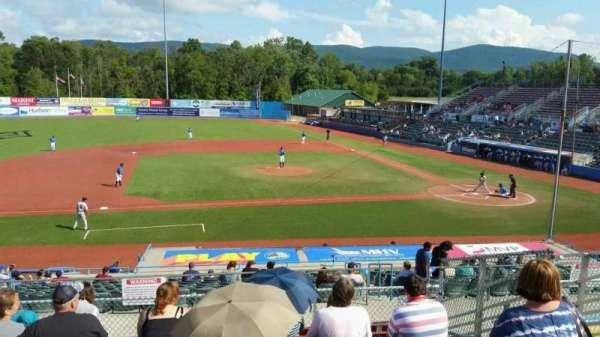 Dutchess Stadium, section: 306, row: H, seat: 13