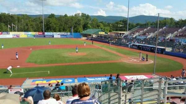 Dutchess Stadium, section: 306, row: H, seat: 16