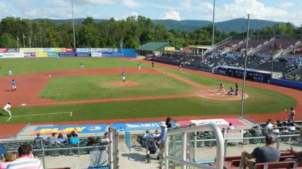 Dutchess Stadium, section: 306, row: H, seat: 20