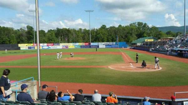 Dutchess Stadium, section: 108, row: J, seat: 8