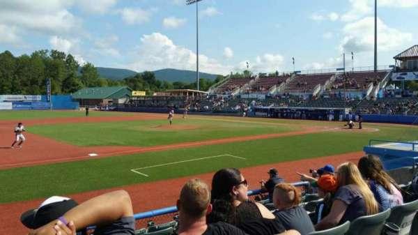 Dutchess Stadium, section: 111A, row: G, seat: 12