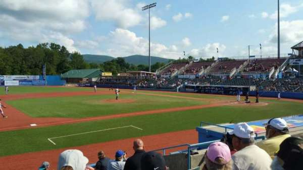 Dutchess Stadium, section: 111A, row: J, seat: 18