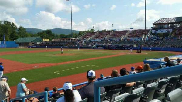 Dutchess Stadium, section: 111B, row: H, seat: 11