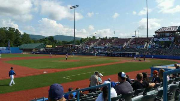 Dutchess Stadium, section: 111B, row: H, seat: 9