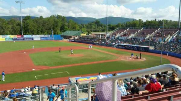 Dutchess Stadium, section: 307, row: K, seat: 20