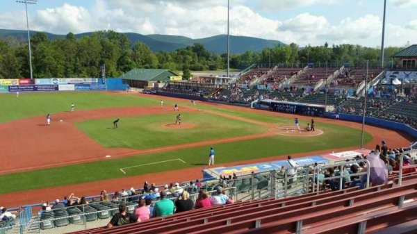 Dutchess Stadium, section: 307, row: N, seat: 7