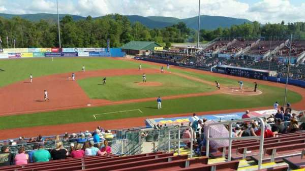 Dutchess Stadium, section: 307, row: N, seat: 16
