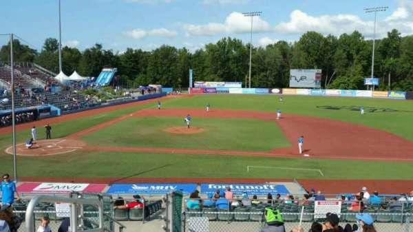 Dutchess Stadium, section: 303, row: J, seat: 1