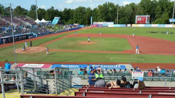 Dutchess Stadium, section: 303, row: J, seat: 4