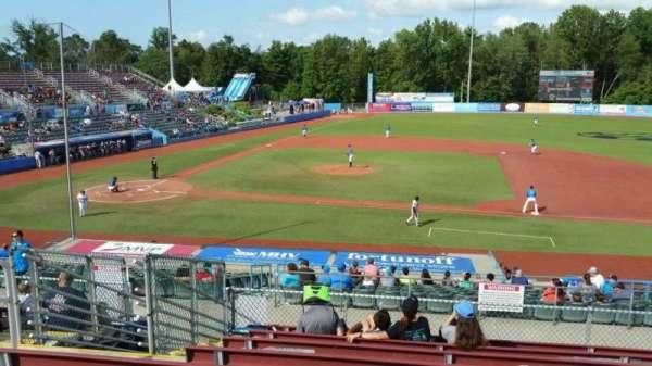 Dutchess Stadium, section: 303, row: J, seat: 6
