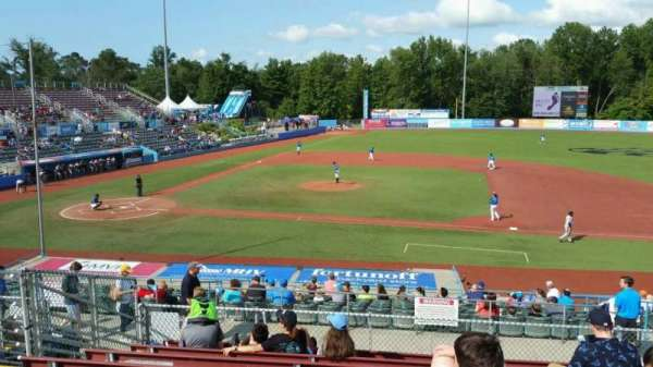 Dutchess Stadium, section: 303, row: J, seat: 9
