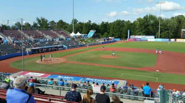 Dutchess Stadium, section: 303, row: J, seat: 18