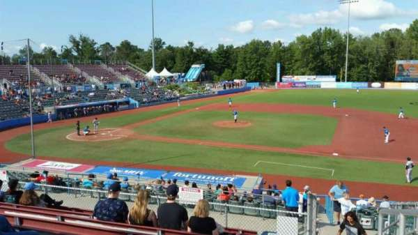 Dutchess Stadium, section: 303, row: J, seat: 20