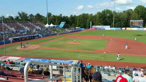 Dutchess Stadium, section: 302, row: L, seat: 1