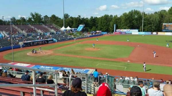 Dutchess Stadium, section: 302, row: L, seat: 3