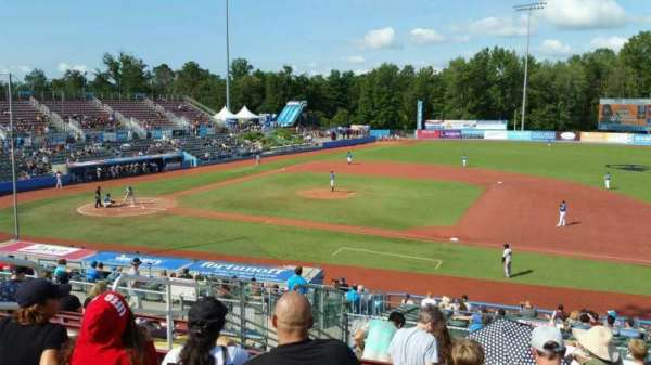 Dutchess Stadium, section: 302, row: L, seat: 6